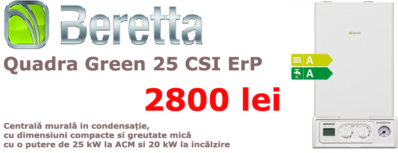 Quadra Green 25 CSI ErP
